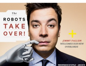 Robots and Jimmy Fallon