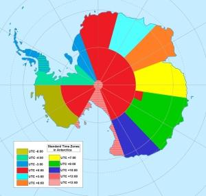 Antartica's Time Zones