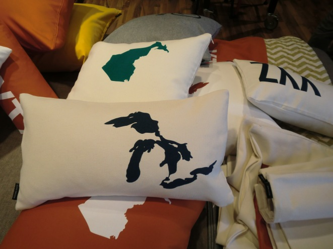 Great Lakes Watershed Pillow